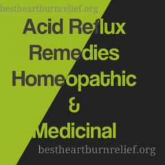Acid Reflux Remedies