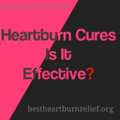 Heartburn Cures