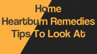 Home Heartburn Remedies