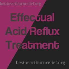 Reflux Treatment